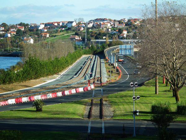 Acceso ferroviario Muelle Fernández Ladreda Ferrol (A Coruña)
