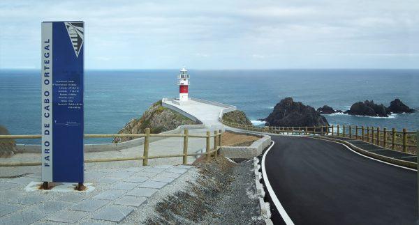 Acondicionamiento del Acceso al Faro de Cabo Ortegal Cariño (A Coruña)