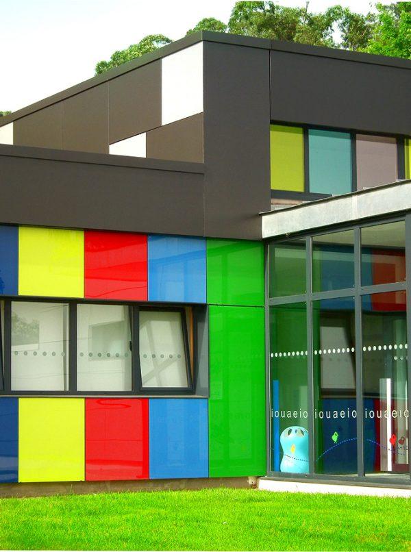 Escuela Infantil en el Campus de A Xunqueira Pontevedra