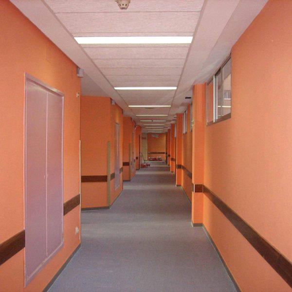Reforma 3ª Planta y Ciberaula Hospital de Móstoles Móstoles (Madrid)