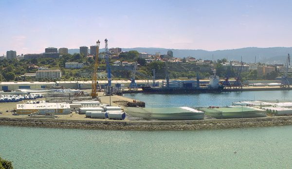 Pavimentación Explanada Muelle Puerto de Ferrol